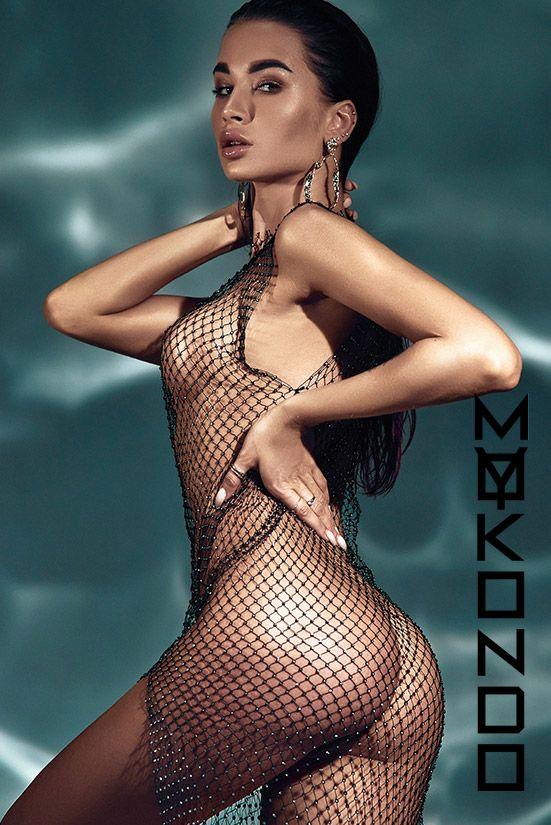 Платье Diamond Net